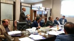 جلسه مسئولین صنف و نظام مهندسی ساختمان شهرستانها در شهر گچساران