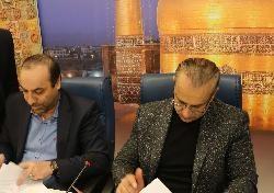 امضای تفاهم نامه همکاری سازمان با بنیاد ملی نخبگان استان خراسان رضوی