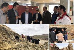 مشارکت سازمان نظام مهندسی ساختمان استان قزوین در امداد رسانی به سیل زدگان