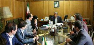 دیدار هیئت مدیره سازمان با ریاست شورای اسلامی شهر