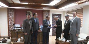 امضاء تفاهم نامه بین دانشگاه های تبریز و سازمان نظام مهندسی معدن استان