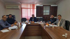 نخستین نشست کارگروه پایش نظام ارجاع کار در سازمان نظام مهندسی استان