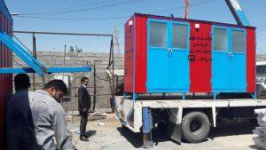ارسال نخستین کمک سازمان نظام مهندسی ساختمان استان خوزستان به سیل زدگان