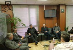 دیدار شهردار گرمدره با هیات رییسه سازمان نظام مهندسی ساختمان استان البرز