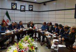 دیدار اعضای هیات مدیره سازمان نظام مهندسی ساختمان استان خراسان شمالی با استاندار