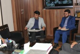 دیدار مدیرکل پست اصفهان با رییس سازمان نظام مهندسی ساختمان استان