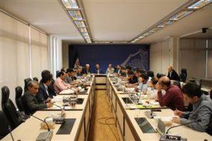 برگزاری جلسه رابطین استانهای اجلاس بیست و دوم هیئت عمومی