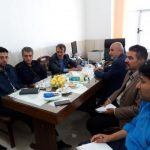 نشست هم اندیشی رئیس مسکن و شهرسازی شهرستان مهریز