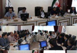 نشست اعضای هیات مدیره سازمان نظام مهندسی ساختمان استان اردبیل