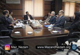 برگزاری جلسه مشترک سازمان نظام مهندسی ساختمان استان مازندران