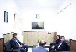 بازدید رئیس سازمان نظام مهندسی ساختمان استان یزد و هیئت همراه