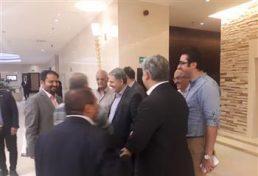 بازدید ریاست شورای مرکزی از محل برگزاری اجلاس هیئت عمومی