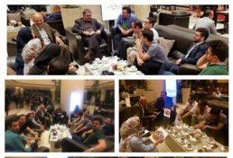 برگزاری جلسه صمیمی رئیس شورای مرکزی با مدیران روابط عمومی استانها