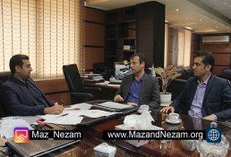 دیدار ریاست سازمان نظام مهندسی ساختمان استان مازندران و هیأت رئیسه سازمان