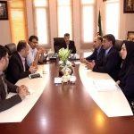 برگزاری نشست بین مدیر شعب بانک مسکن استان یزد و رئیس سازمان