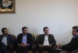 بازدید یک روزه رئیس سازمان ساختمان استان یزد از شهرستان خاتم