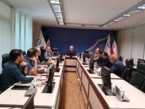 جلسه صندوق مشترک با موضوع بهره گیری از امکانات طرح ملی سیماک
