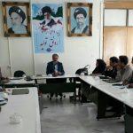 برگزاری جلسه صدور مجوز و پروانه های بهره برداری در مدیریت تعاون روستایی