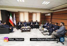 برگزاری نشست مشترک مسئولین بانک ملی با هیات رئیسه سازمان