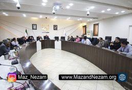 چهل و چهارمین نشست هیات مدیره سازمان نظام مهندسی ساختمان استان