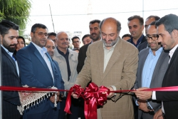 گشایش نمایشگاه صنعت ساختمان استان قزوین