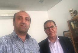 گفتوگوی دبیر ستاد نکوداشت با ریاست نظام مهندسی لارستان