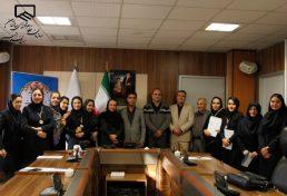 اهدای جوایز منتخبان نخستین دوره مسابقات بانوان مهندس البرز