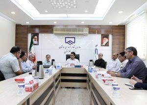 برگزاری نشست هماندیشی در مورد احداث ساختمان کوی پیروزی