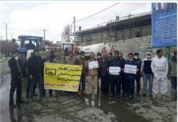 مشارکت داوطلبانه مهندسان در اقدامات مقابله با کرونا در استان لرستان