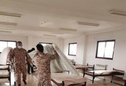 تجهیز ساختمان شماره دو سازمان نظام مهندسی ساختمان استان مازندران، در جهت درمان مبتلایان به ویروس کرونا
