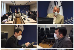 نخستین نشست هیات رئیسه شورای مرکزی سازمان در سال هزار و سیصد و نود و نه