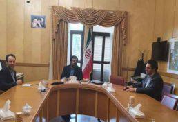 نشست استاندار اردبیل با ریاست سازمان نظام مهندسی ساختمان استان