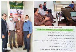 راه اندازی نخستین مرکز خدمات کشاورزی غیردولتی امور اراضی استان یزد