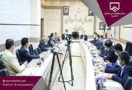 برگزاری جلسه مشترک هیئت مدیره سازمان و مسئولان اداره کل راه و شهرسازی