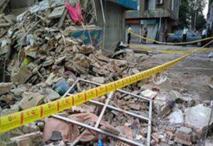 بررسی ریزش ساختمان های مجاور پروژه گود برداری شده محله فلاح شهر تهران