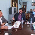 دیدار سرپرست جهاددانشگاهی استان کرمان با رییس سازمان نظام مهندسی معدن استان