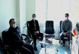 دیدار بابایی با رئیس بسیج مهندسی عمران و معماری آذربایجان شرقی به مناسبت هفته بسیج