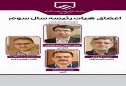 انتخابات سومین سال هیات رئیسه سازمان نظام مهندسی ساختمان استان یزد