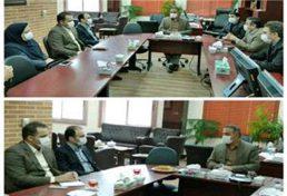 دیدار مدیر کل راه و شهرسازی با رئیس و اعضای هیئت رئیسه نظام مهندسی مازندران