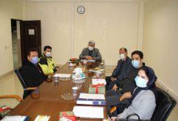 نشست کمیسیون تخصصی شهرسازی با حضور ریاست و نماینده شهرسازی در هیئت مدیره
