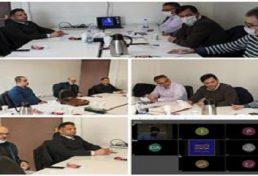 نشست کمیسیون آموزش شورای مرکزی به صورت حضوري و مجازي و با مشاركت کلیه اعضا