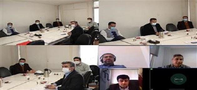 پنجمین جلسه کمیسیون خدمات مهندسی و اشتغال شورای مرکزی بصورت حضوري و مجازي