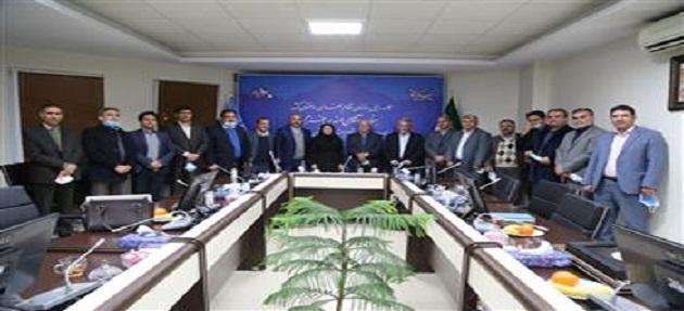 سفر استانی احمد خرم، رئیس سازمان نظام مهندسی ساختمان کشور به زنجان