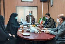 جلسه خبری رئیس نظام مهندسی ساختمان علی آباد کتول با خبرنگاران