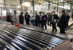 کارخانه تولیدکننده آبگرمکن خورشیدی و پروژهای ساختمانی دارای سیستمهای خورشیدی
