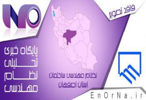 انتخاب اعضای هیات اجرایی نهمین دوره انتخابات هیات مدیره نظام مهندسی اصفهان