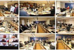 اولین جلسه شورای مرکزی سازمان نظام مهندسی ساختمان در سال ۱۴۰۰