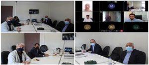 نشست گروه تخصصی ترافیک شورای مرکزی با حضور اعضا به صورت ترکیبی