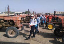 پلاک گذاری وسایل نقلیه کشاورزی توسط سازمان نظام مهندسی کشاورزی و منابع طبیعی
