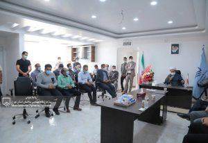 افتتاح دفتر نمایندگی سازمان نظام مهندسی ساختمان در شریفآباد با حضور مسؤلین این شهر